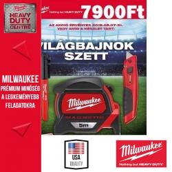 Milwaukee Csúszópengés kés + 5m mágneses mérőszalag + jelölőfilc +AJÁNDÉK FOCILABDA