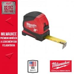 Milwaukee Mérőszalag 3m metrikus PRO Compact