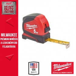 Milwaukee Mérőszalag 5m metrikus PRO Compact 19mm