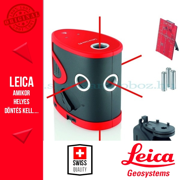 Leica Lino P5 pontlézer