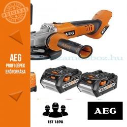 AEG BEWS 18-125X Li 402C Akkus sarokcsiszoló