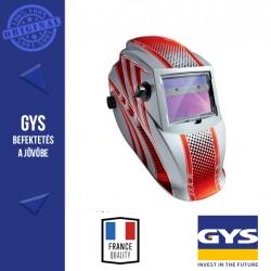 GYS LCD HERMES Hegesztő fejpajzs (piros)