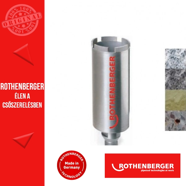 Rothenberger Gyémántfúrás