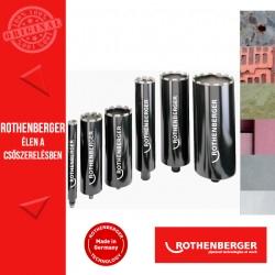 """ROTHENBERGER DX-HIGH SPEED PLUS univerzális fúrókorona G1/2"""" 122 mm"""