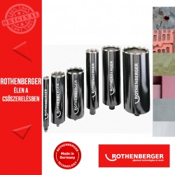 """ROTHENBERGER DX-HIGH SPEED PLUS univerzális fúrókorona G1/2"""" 132 mm"""