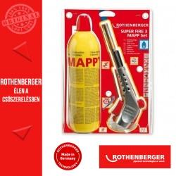 ROTHENBERGER SUPER FIRE 3 MAPP forrasztó készlet