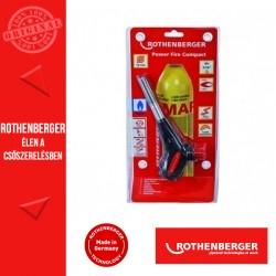 ROTHENBERGER POWER FIRE Compact forrasztó + MAPP gáz