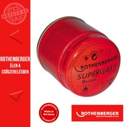 ROTHENBERGER SUPERGAS C 200 gázpatron biztonsági rendszerrel