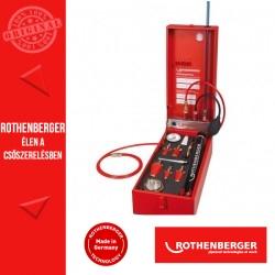 ROTHENBERGER ROTEST GW 150/4 gáz- és vízvezeték ellenőrző készülék
