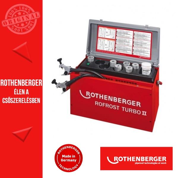 Rothenberger Csőfagyasztás
