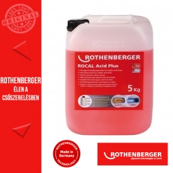 ROTHENBERGER ROCAL Acid Plus vízkőoldó koncentrátum 5 kg