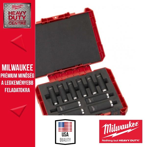 """Milwaukee 10db-os dugókulcs készlet 1/2"""""""