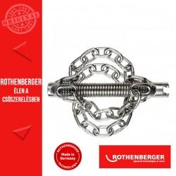 ROTHENBERGER csőtisztító láncos forgófej 16 mm