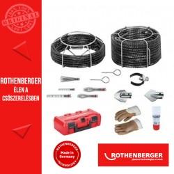 ROTHENBERGER Standard spirál- / szerszámkészlet 16-22 mm