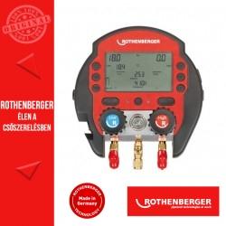 ROTHENBERGER 600 digitális csaptelep készlet + 1 hőmérő csiptetővel