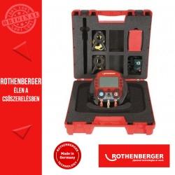 ROTHENBERGER 600 digitális csaptelep készlet + 2 hőmérő csiptetővel