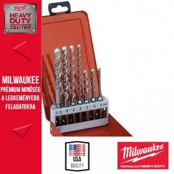 Milwaukee SDS-Plus 7db-os fúrókészlet