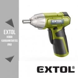 EXTOL CRAFT akkus csavarbehajtó 3,6 V, 4 Nm – 402113