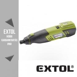 EXTOL CRAFT akkus mini köszörű és fúrógép 3,6 V, 1300 mAh – 402200