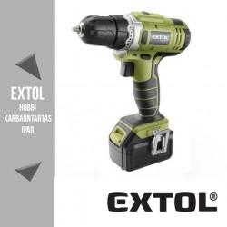 EXTOL CRAFT akkus fúró csavarozó 14,4 V, 22 Nm – 402420
