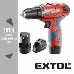 EXTOL PREMIUM akkus fúró csavarozó 12 V, 21 Nm – 8891150