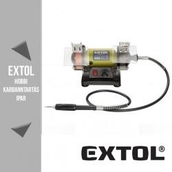 EXTOL CRAFT mini kettős köszörűgép 120 W, 75 mm – 410112