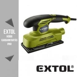 EXTOL CRAFT vibrációs csiszológép 150 W, 187x90 mm – 407114