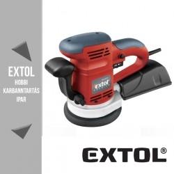 EXTOL PREMIUM rotációs (excentrikus) csiszológép 450 W, 125/150 mm – 8894202
