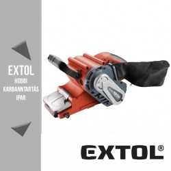 EXTOL PREMIUM szalagcsiszológép 1010 W, 76x533 mm – 8894300