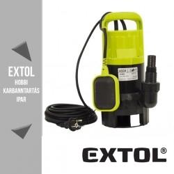 EXTOL CRAFT szennyvíz szivattyú 550 W, 200 liter/perc – 84501