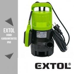 EXTOL CRAFT szennyvíz szivattyú 400 W, 150 liter/perc – 84504