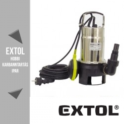 EXTOL CRAFT szennyvíz szivattyú 750 W, 200 liter/perc -84505