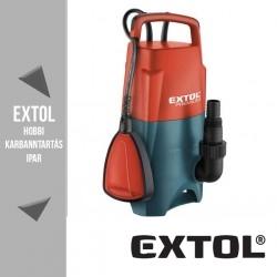 EXTOL PREMIUM szennyvíz búvárszivattyú úszókapcsolóval, 750 W, 216 liter/perc – 8895007
