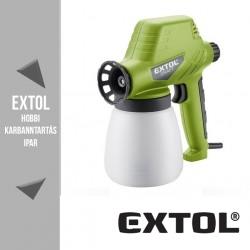 EXTOL CRAFT festékszóró 80 W, 800 ml – 412113