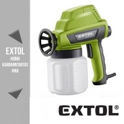 EXTOL CRAFT festékszóró 110 W, 800 ml – 412114