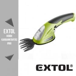 EXTOL CRAFT akkus fűnyíró olló 3,6 V(DC), 83 mm – 415120