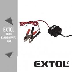 EXTOL CRAFT automatikus akku töltéstartó 5-125 Ah – 417302