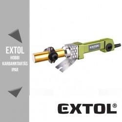 EXTOL CRAFT műanyagcső hegesztő gép 800 W, 0-300 °C – 419312