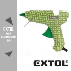 EXTOL CRAFT virágmintás melegragasztó pisztoly 40 W, 11 mm – 422100