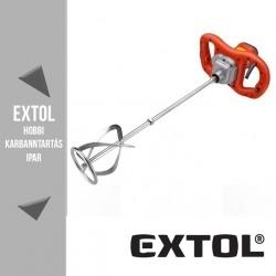 EXTOL PREMIUM két fokozatú elektromos festék- és habarcskeverő gép 1600 W, 180-380 / 300-650 ford/perc – 8890601