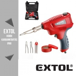 EXTOL PREMIUM 3 funkciós forrasztópisztoly 200 W - 8894510