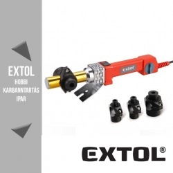 EXTOL PREMIUM műanyagcső hegesztő gép 800 W, 0-260 °C – 8897210
