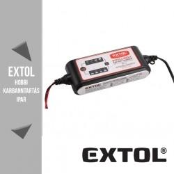 EXTOL PREMIUM mikroprocesszoros intelligens autós akkutöltő 1,2-80 Ah – 8897300