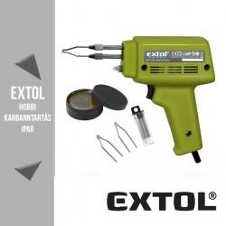 EXTOL CRAFT forrasztópisztoly 100 W + koffer – 9921