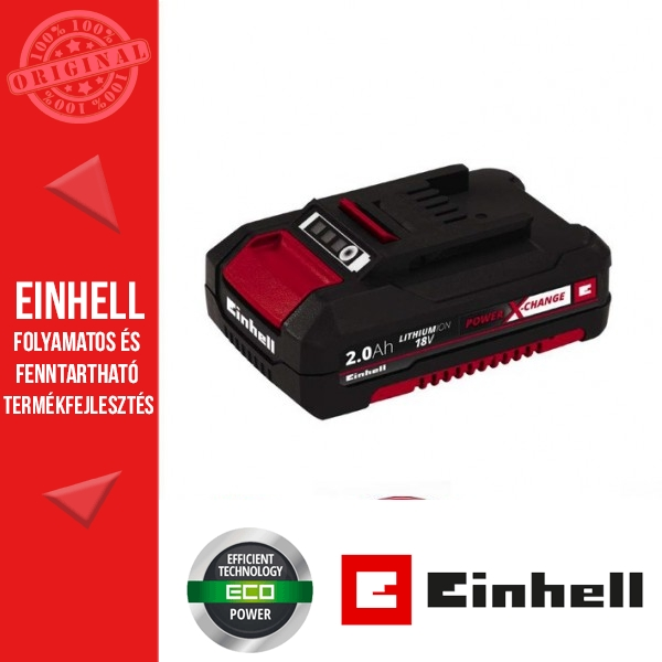 Einhell 18V PXC 2,0Ah Akkumulátor