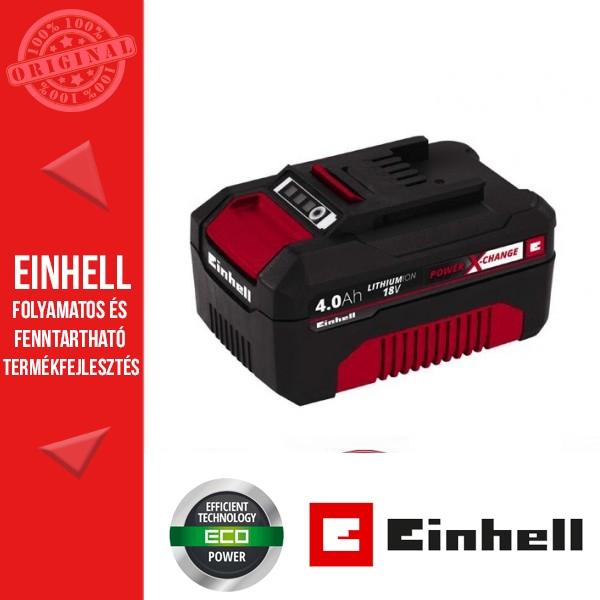 Einhell 18V PXC 4,0Ah Akkumulátor