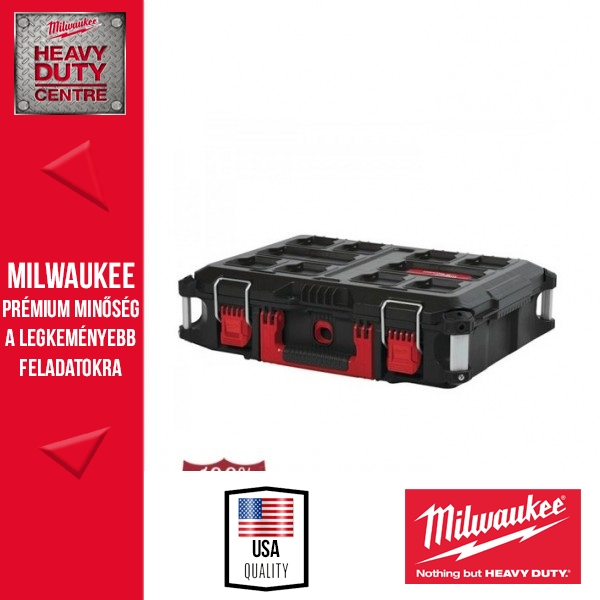 Milwaukee PACKOUT™ Tároló láda Box