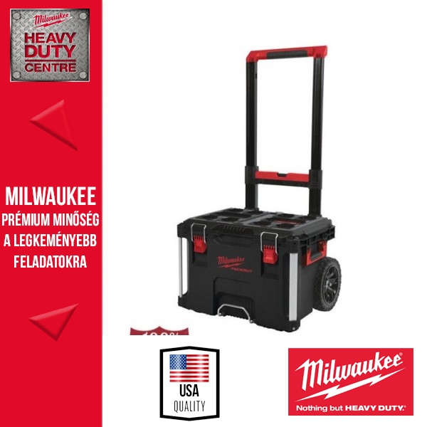 Milwaukee PACKOUT™ Tároló láda kerekes 56cm