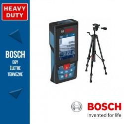 Bosch GLM120C lézeres távolságmérő +BT150 állvány