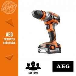 AEG BSB 18 C2 BL LI-X02C Akkus ütvefúró-csavarozó